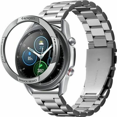 Spigen Chrono Shield Bezel Ring Αλουμινίου - Samsung Galaxy Watch 3 45mm - Silver (AMP02239)