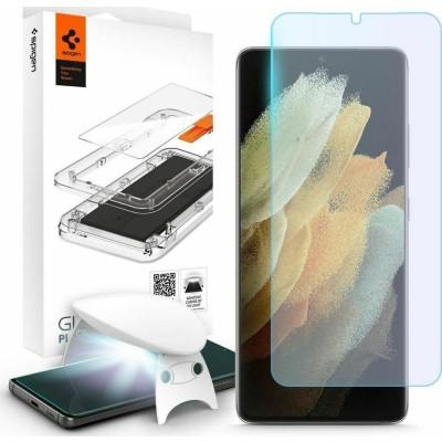 Spigen GLAS.tR Platinum 2.0 Premium Tempered Glass - Σύστημα Προστασίας Οθόνης Samsung Galaxy S21 Ultra 5G (AGL02527)