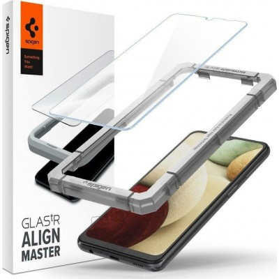 Spigen GLAS.tR ALIGNmaster - Αντιχαρακτικό Γυάλινο Screen Protector Samsung Galaxy A32 5G / A12 - 2 Τεμάχια (AGL02827)