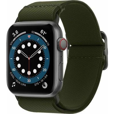 Spigen Lite Fit Υφασμάτινο Λουράκι Apple Watch SE/6/5/4/3 (44/42mm) - Khaki (AMP02288)