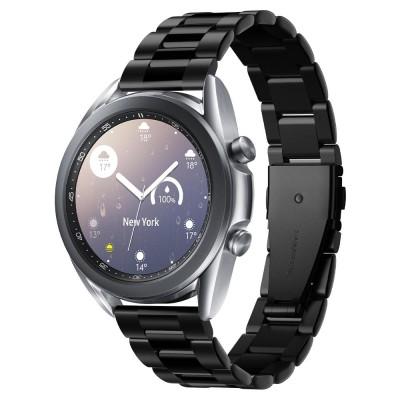 Spigen Modern Fit Μεταλλικό Λουράκι Samsung Galaxy Watch 3 41mm - Black (600WB24980)