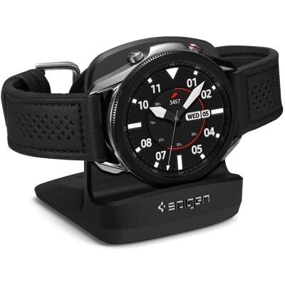 Spigen S352 Night Stand - Βάση για Samsung Galaxy Watch 3 (45 mm / 41mm) - Black (AMP01859)