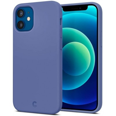 Spigen Θήκη Cyrill Silicone Apple iPhone 12 mini - Linen Blue (ACS01946)