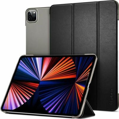 """Spigen Θήκη Smart Fold Apple iPad Pro 12.9"""" 2021 με Υποδοχή Apple Pencil - Black (ACS02882)"""