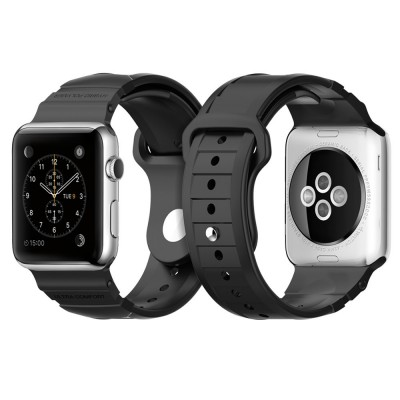 Spigen Apple Watch Rugged Band 42mm Black (SGP11582)