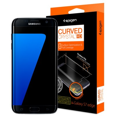Spigen Galaxy S7 Edge Screen Protector Curved (556FL20257)