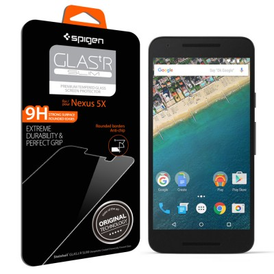 Spigen Nexus 5X Screen Protector GLAS.tR SLIM (SGP11815)
