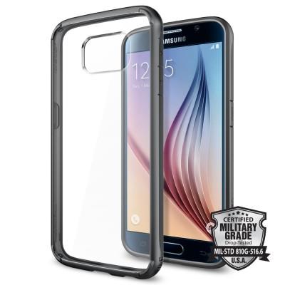 Spigen Samsung Galaxy S6 Ultra Hybrid Gunmetal (SGP11315)