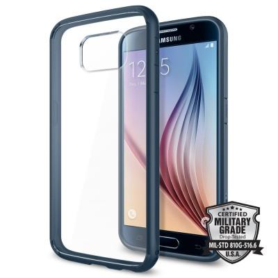 Spigen Samsung Galaxy S6 Ultra Hybrid Metal Slate (SGP11313)
