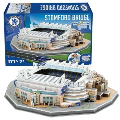3D Puzzle Stamford Bridge Stadium -171 τεμάχια ( 100-100-972)