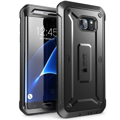 Supcase Ανθεκτική Θήκη Unicorn Beetle Pro Samsung Galaxy S7 Edge - Black