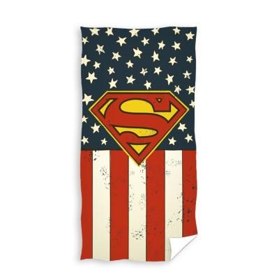 Superman Πετσέτα μεγάλη Θαλάσσης 70 x 140 Retro Επίσημο προϊόν