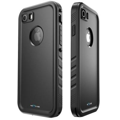 αδιάβροχη θήκη για iPhone 7 μαύρη