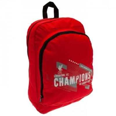 Σακίδιο πλάτης Liverpool F.C Champions of Europe- Επίσημο Προϊόν