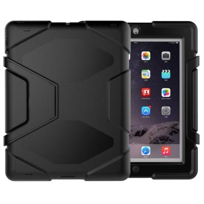 Ανθεκτική Θήκη Tech-Armor Survive για iPad 2/3/4 με stand μαύρη
