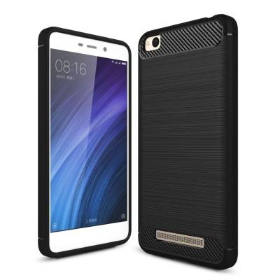 Θήκη TPU Carbon Xiaomi Redmi 4A - Black