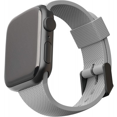 UAG DOT Λουράκι Σιλικόνης Apple Watch SE/6/5/4/3 (44/42mm) - Grey (19249K313030)