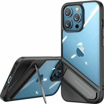 Ugreen Fusion Ανθεκτική Θήκη με Kickstand - Apple iPhone 13 Pro - Black (90153)
