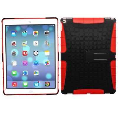 Ανθεκτική θήκη για iPad Pro μαύρη-κόκκινη