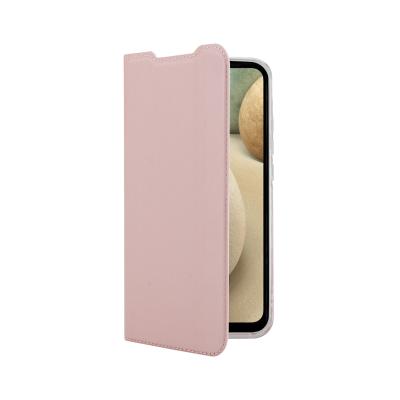 Vivid Case Book Samsung Galaxy A12 Rose Gold