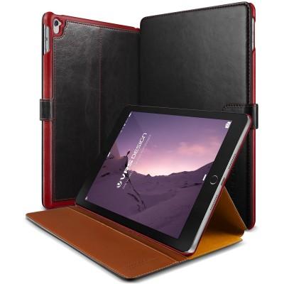 Verus Δερμάτινη Θήκη iPad Pro 9.7'' - Πορτοφόλι (VRIPP9-LDDBK)