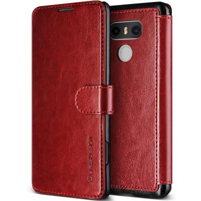 Verus Δερμάτινη Θήκη Πορτοφόλι LG G6 - Wine
