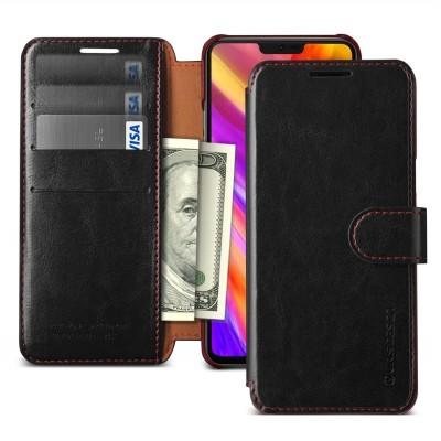 VRS Design Θήκη-Πορτοφόλι για LG G7 ThinQ - Black
