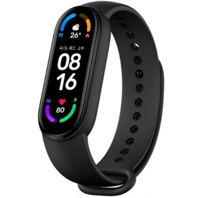 Xiaomi Fitness Tracker Mi Band 6 Black