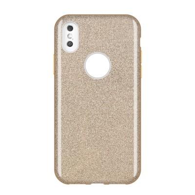 Shining Glitter Case για Huawei Y7 (2019) - Gold (200-107-937)