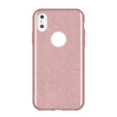 Shining Glitter Case για Huawei Y7 (2019) Ροζ - OEM (200-107-936)