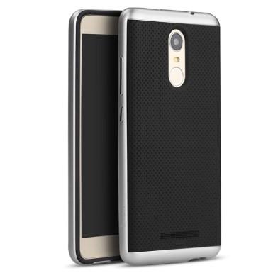 af235556fc Θήκη Hybrid Case για Xiaomi Redmi Note 3 Silver by IPAKY (200-101-