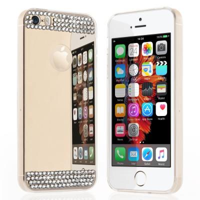 Θήκη σιλικόνης για iPhone 5/5S /SE Mirror Diamond  by Yousave και screen protector (200-100-221)