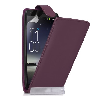 Θήκη για LG G Flex  by YouSave Accessories μωβ  και δώρο screen protector