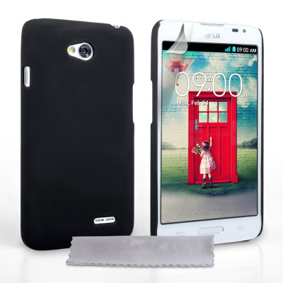 Θήκη για LG L70 μαύρη ultra slim by YouSave Accessories και  screen protector