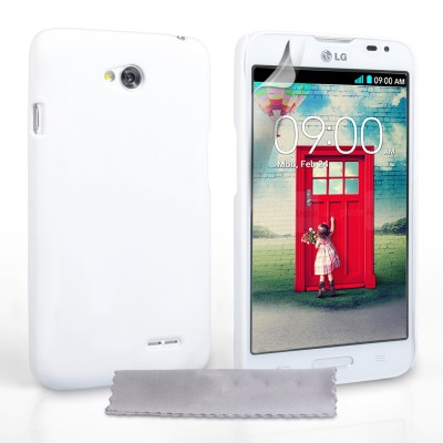 Θήκη για LG L70 λευκή  ultra slim by YouSave Accessories και  screen protector