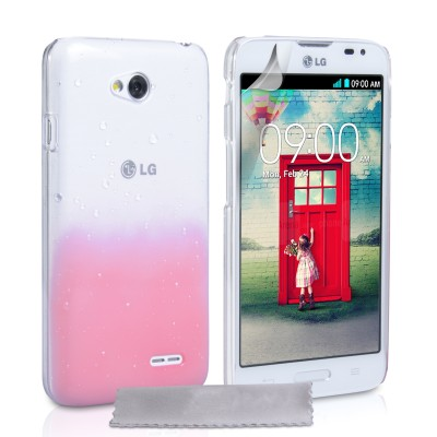 Θήκη για LG L70  by YouSave Accessories ροζ  και δώρο screen protector