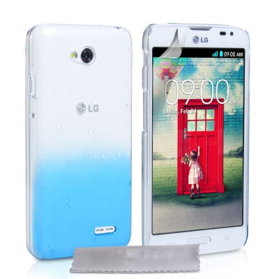 Θήκη για LG L70  by YouSave Accessories μπλε και δώρο screen protector
