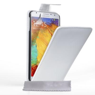 Θήκη για Samsung Galaxy Note 3 Neo  by YouSave Accessories λευκή και δώρο screen protector