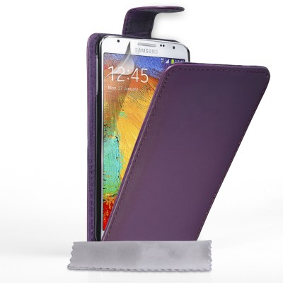 Θήκη για Samsung Galaxy Note 3 Neo  by YouSave Accessories μωβ  και δώρο screen protector