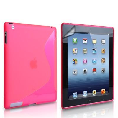 Θήκη σιλικόνης για Apple iPad  Mini 2,3 Ροζ by Yousave ( 200-101-217)