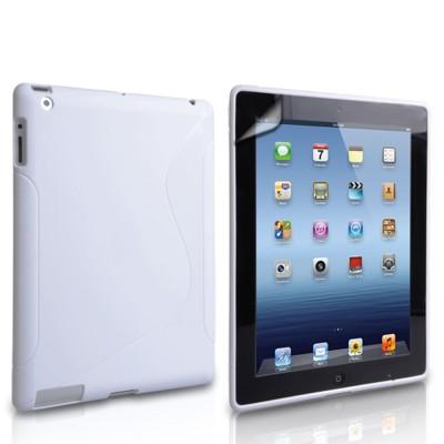 Θήκη σιλικόνης για Apple iPad  Mini 2,3 Άσπρη by Yousave ( 200-101-195)