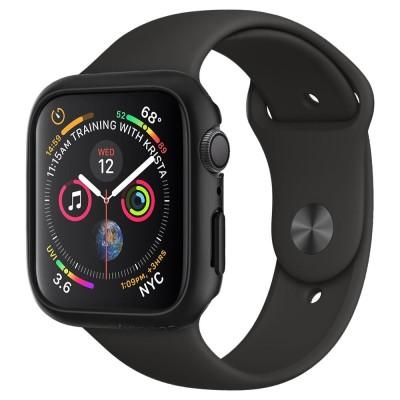 Spigen Apple Watch 4 44mm Case Thin Fit Black (062CS24474 )