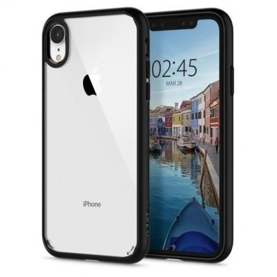 Spigen Ultra Hybrid Θήκη iPhone XR - Matte Black (064CS24874)
