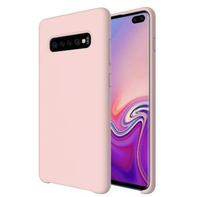 OEM Θήκη Σιλικόνης για Samsung Galaxy S10 Plus - Pink (200-104-589)