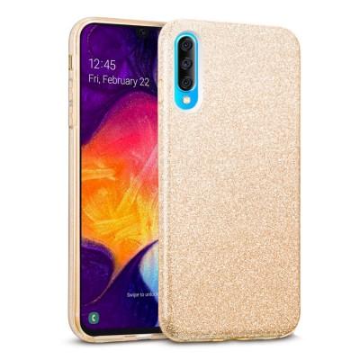 Shining Glitter Case για Samsung Galaxy A50 Gold -OEM (200-103-825)