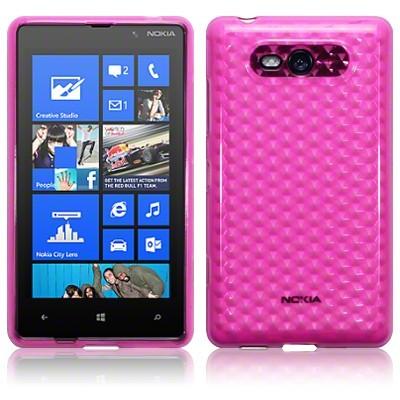 Ημιδιάφανη Θήκη Nokia Lumia 820 by Terrapin (118-001-139)