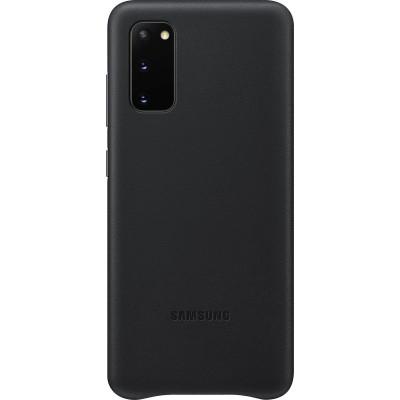 Official Samsung Δερμάτινη Θήκη Samsung Galaxy S20 - Black (EF-VG980LBEGEU)