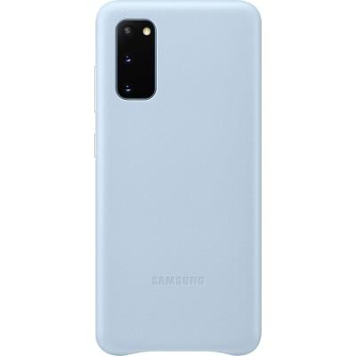 Official Samsung Δερμάτινη Θήκη Samsung Galaxy S20 - Sky Blue (EF-VG980LLEGEU)