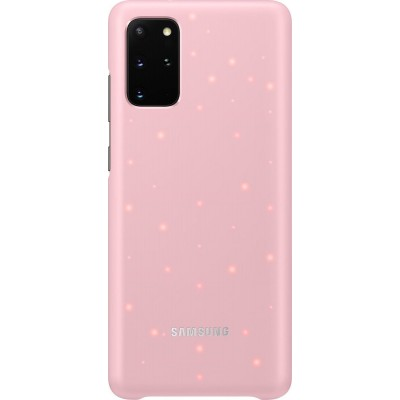 Official Samsung Led Cover Samsung Galaxy S20 Plus - Pink (EF-KG985CPEGEU)