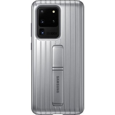 Official Samsung Protective Standing Cover Samsung Galaxy S20 Ultra - Silver (EF-RG988CSEGEU)